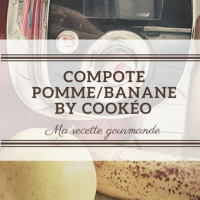 Compote Pomme/Banane by Cookéo! Ma recette gourmande