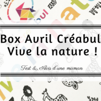 Box avril de Créabul: Vive la nature !