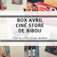 La box Avril Ciné store de Bibou