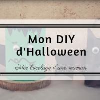 Mon DIY d'Halloween
