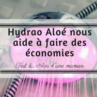 Hydrao Aloé: Le pommeau connecté qui nos aide à faire des économies