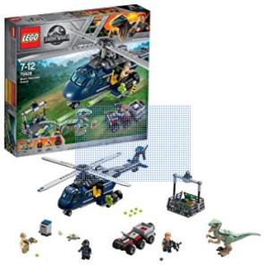 Screenshot_2018-11-04 LEGO Jurassic World - La poursuite en hélicoptère de Blue - 75928 - Jeu de Construction Amazon fr Jeu[...]