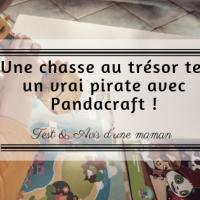 Une chasse au trésor tel un vrai pirate avec Pandacraft !