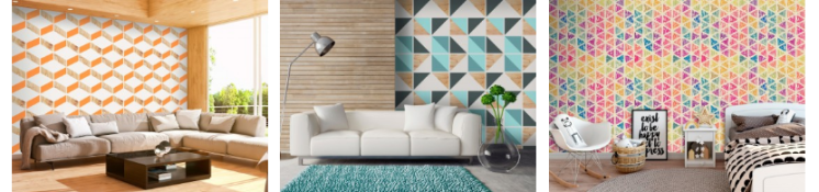 screenshot_2019-01-27 papier peint dessin géométrique - motifs modernes sur papiers peints bimago