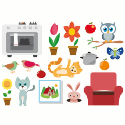 planche-autocollants-stickers-fleurs-animaux-wiplii-300x300