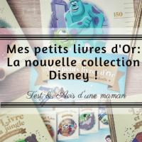 Mes petits livres d'Or: la nouvelle collection Disney!