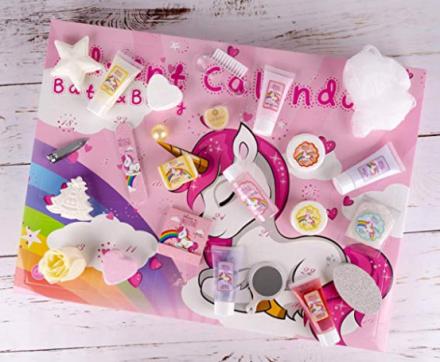 Screenshot_2019-11-01 Accentra Calendrier de l'Avent de beauté Unicorn pour femmes, filles, chevaux licorne, 24 cosmétiques[...]