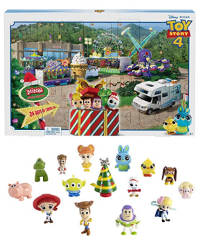 Screenshot_2019-11-01 Disney-GKT88 Pixar Toy Story 4 Calendrier de l'Avent 15 Mini-Figurines et des Surprises, pour Enfants[...]