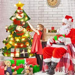 Screenshot_2019-11-01 FunPa Feutre Arbre de Noël, 3 28ft Sapin de Noël Décoration Vitrine DIY Feutre avec 50LEDs lumières 2[...](2)
