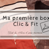 Ma première box Clic & Fit !