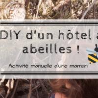 DIY d'un hôtel à abeilles