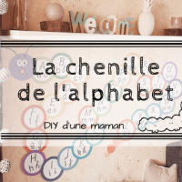 DIY: La chenille de l'alphabet