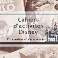 Cahiers d'activités Disney