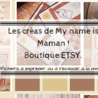 Les créas de My name is Maman
