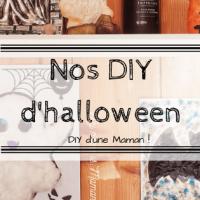 Nos diy d'halloween